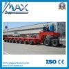 Heavy Duty Equipment Transport Lowbed Semi Trailer (lowboy) Fo Bridge Construction