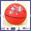 Personalized Colorful Rubber Basketball for Children