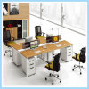 Modern Office Furniture 4 Person Call Center Office Workstation