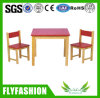 Popular Children Furniture Square Table Set for Kindergarten (SF-43C)