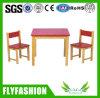 Popular Children Furniture Square Table Set for Kindergarten (SF-43C)