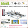 PVC/UPVC Vinyl Window Welding & Cleaning Machine Line, PVC Window Door Machine