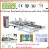 PVC/UPVC Vinyl Window Welding & Cleaning Machine Line, PVC Window Door Machine