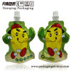 Liquid Stand up Pouch with Cap Special Shape Bag/ Packaging