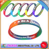 Wholesale Cheap Mix Color Silicone Wristband with Printing (TH-599)