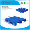 1200*1000*150mm Flat Heavy Duty Deck Rackable Plastic Pallet HDPE Plastic Tray with 3 Runners (ZG-1210 flat)