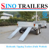 Sino 4 Wheel Farm Trailer with Cable Disc Brake