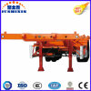 Manufacturer Skeleton Container Transport Semi Trailer