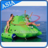 2017 White Floating Giant Inflatable Iceberg for Water Climbing Game