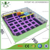 Square Safety Jump Trampoline Arena for Kids