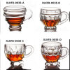 200ml European Coffee Glass Crystal Glass Cup Cute Milk Breakfast Cup