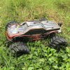 Brushless 1/10th 4WD Electric RC Car with Black Body