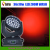 36 X 15W 5in1 Zoom LED Moving Head Wash
