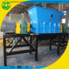 Waste Plastic Recycling Crushing Machine Paper Shredder with Double Shaft