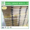 Hot Sale 18mm Yellow Color Melamine Faced Slot MDF