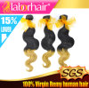 5A Grade Fashion Body Wave Ombre Hair Extension