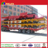 3 Axle Skeletal Chassis 40FT Cimc Container Skeleton Semi Trailer