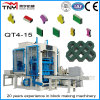 Qt4-15 Automatic High Quality Block Making Machine Brick Machine Paver Machine