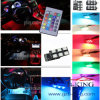Romote Control 16-Color RGB Car Interior Light