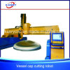 Cylinder Manufacturing Machine Dish Head Lid CNC Gas Plasma Cutting Machine