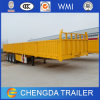 3 Axle Side Wall Dropside high Bed Cargo Semi Trailer