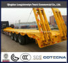 40ton Transport Lowbed Flatbed Semi Trailer