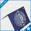 Folded Hang Tag with Hot Stamping for Sportswear