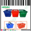 Grocery Plastic Portable Shopping Basket for Sale