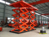 CE approved heacy loading hydraulic double scissor lift for sale
