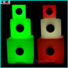 LED Illuminated Sound Sensitive Cube Bluetooth Design Glow in The Dark Bluetooth
