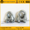 China Supplier DIN 741 Galvanized Malleable Wire Rope Clip