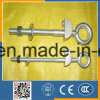 Long Screw Eye Bolt G291 with Regular Nut