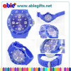 Colorful Silicone Ice Watch with Calendar (ABA-105)