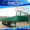3 Axles Bulk Cargo Semi Trailer with Side Wall
