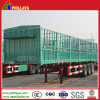 3 Axles High Bed Store House Bar Cargo Semi Trailer
