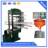 Four Column Type Rubber Tile Press Machine