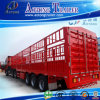 Best Selling 3 Axles Livestock Fence Semi Trailer for Sale