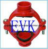 Ductile Iron Grooved Mechanical Cross