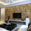 Home Decorative Non-Woven Wallpaper with Letters