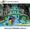 Commercial Use Giant Inflatable Water Slide Long Slip Slide City