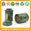 Mini Small Metal Tea Tin Box Tea Caddy Canister Tins