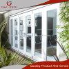 White Aluminium Profile Glass Folding Bi-Fold Doors