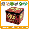 Square Gift Tin Box Packaging for Metal Can Tin Container