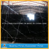 High Quality Chinese Cheap Polished Nero Marquina Black Marble Stone