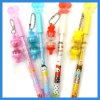 Promotional Colorful Carton Gel Pen with 0.5mm Needle Tip