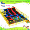 Superboy Indoor Playground Trampoline with Foam Pits