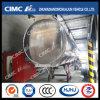 Cimc Huajun Round-Shaped Aluminium Alloy Fuel/Gasoline Tanker