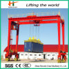 Rubber Tyre Gantry Crane for Container Yard