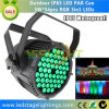 Top Sale DMX LED PAR Lighting 54*3W RGB 3in1 Edison LEDs for Outdoor Using