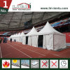 White PVC Fabric Pagoda Tent for Red Wine Festival Tent